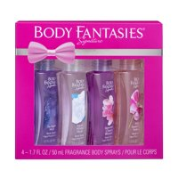 Body Fantasies Signature Fragrance Body Sprays Set - 4 pcs