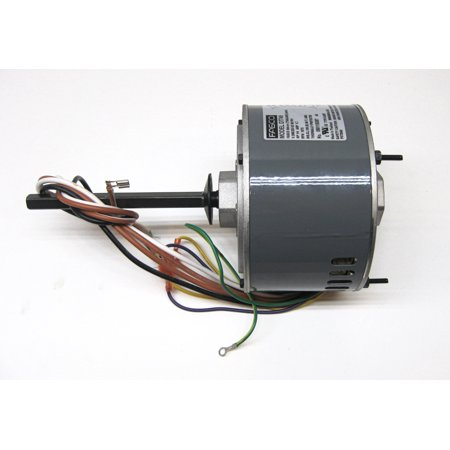 Air Conditioner Condenser Fan Motor Shaft Up 1/4 HP 230 Volts 1075 RPM Ball Bearing Single Speed for Fasco D7749 230v Condenser Fan Motor