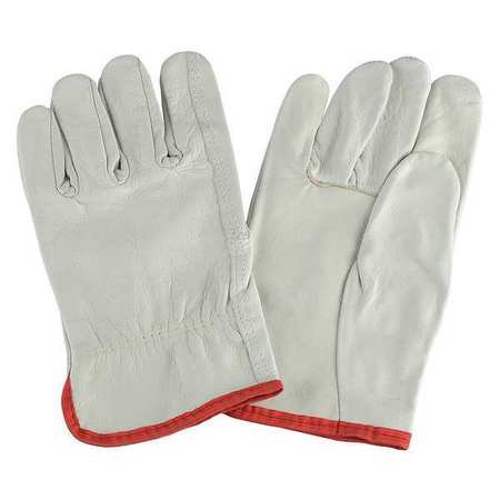 Condor  1AJ23 L Cream Leather Driver's Gloves