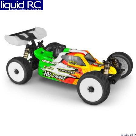 JConcepts 0364 S15 Clear Body - HB Racing D817V2