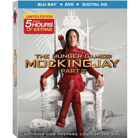 The Hunger Games  Mockingjay  Part 2  Blu Ray   Dvd   Digital Hd   With Instawatch