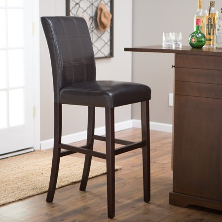 Palazzo 34 in extra tall bar stool brown for Walmart bar stools