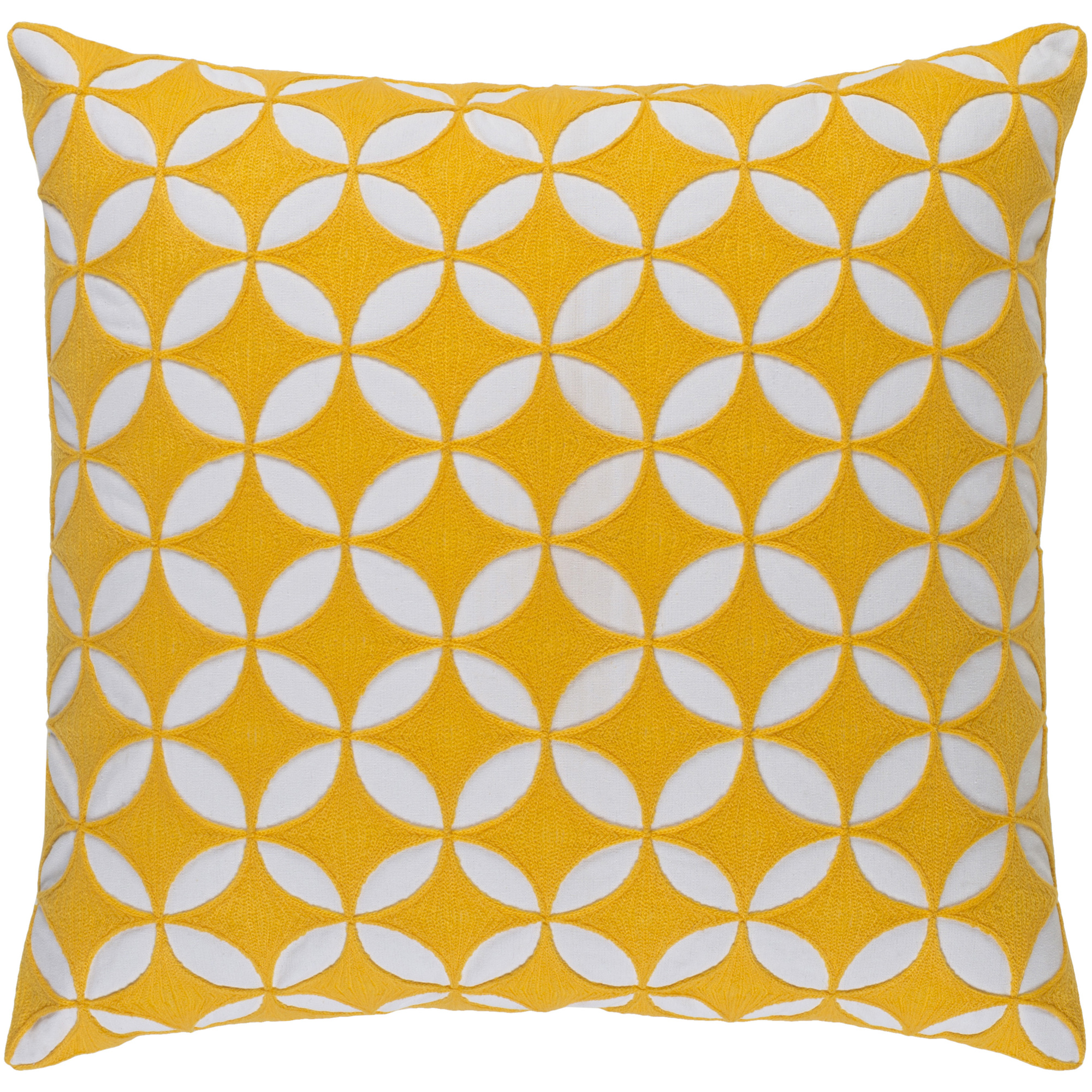 """Art of Knot Bulstrode 18"""" x 18"""" Pillow (with Poly Fill)"""