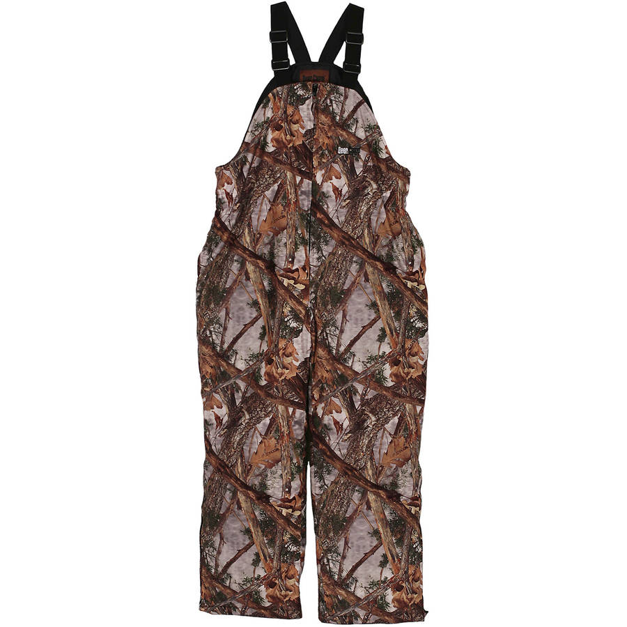 Click here to buy Gamehide Deer Camp Bib, Woodlot Camouflage by Gamehide.