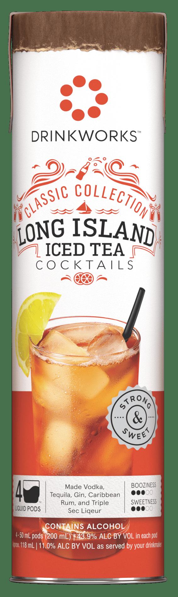 Drinkworks Classic Collection Long Island Iced Tea 43 9 Abv Walmart Com Walmart Com