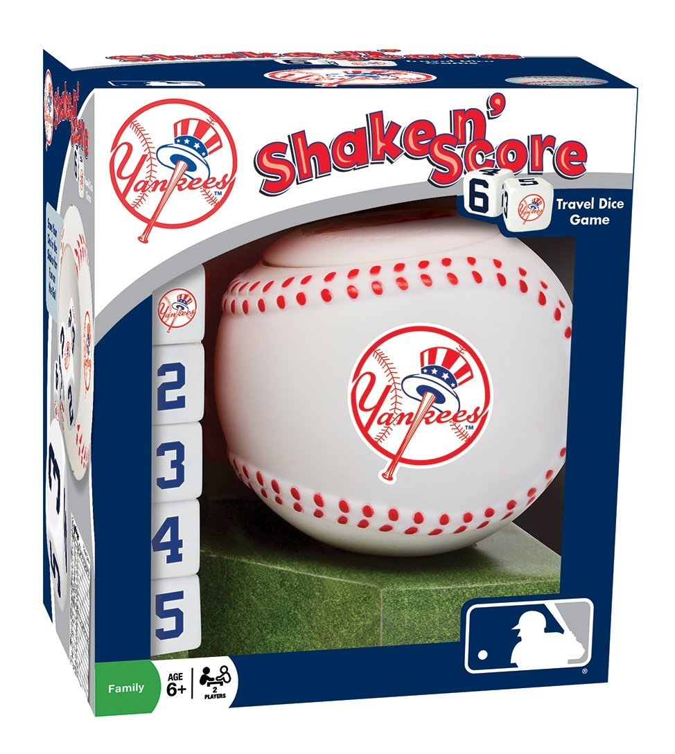 MasterPieces MLB New York Yankees Shake n' Score Dice Game