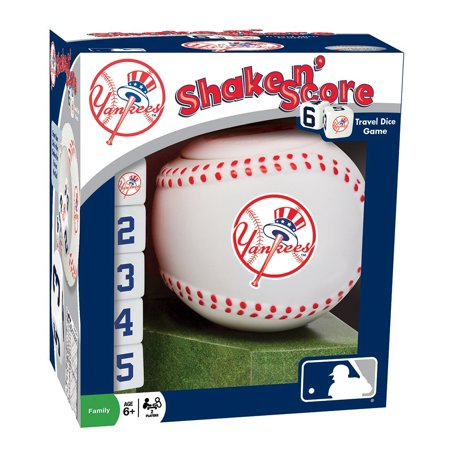 Masterpieces Mlb New York Yankees Shake N Score Dice Game