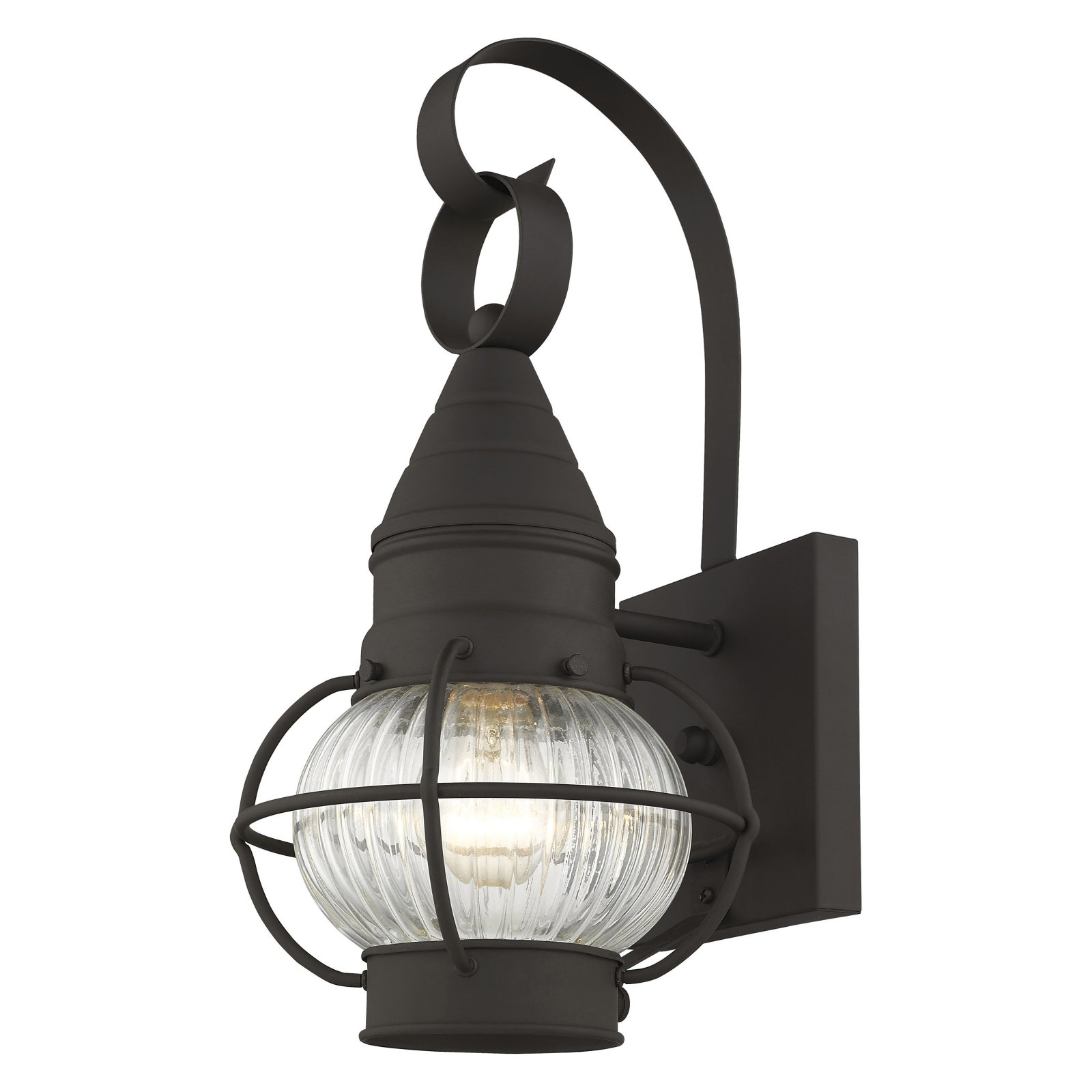 Livex Lighting Newburyport 1 Light Wall Lantern