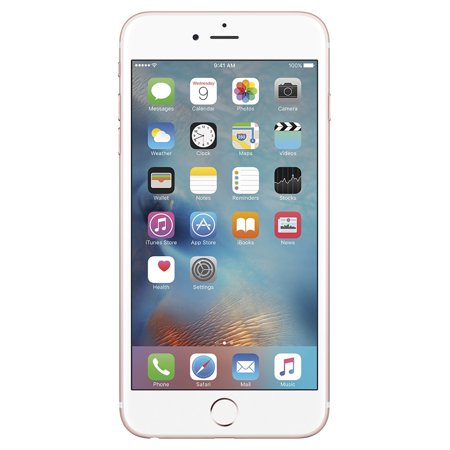 Seller Refurbished Apple iPhone 6S Plus 16GB Unlocked GSM iOS Smartphone Multi Colors (Rose