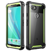 Google Pixel 2XL case, i-Blason [Ares] Full-Body Rugged Clear Bumper Case with Built-in Screen Protector for Google Pixel 2 XL 2017 Release (Pink)