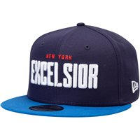 New York Excelsior Overwatch League New Era Two-Tone Team Snapback Adjustable Hat - Navy - OSFA