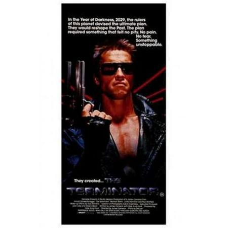 Terminator Wall - Posterazzi MOV195920 The Terminator - Style B Movie Poster - 11 x 17 in.
