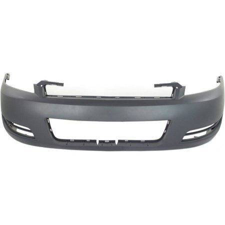 NEW FRONT BUMPER COVER PRIMED FITS 2006-2013 CHEVROLET IMPALA 89025047