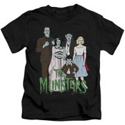 The Munsters The Family Little Boys Shirt