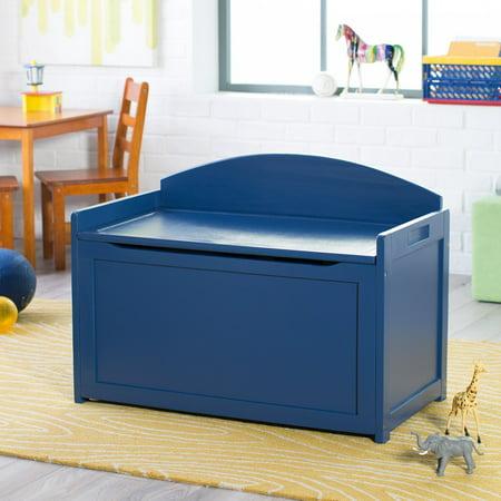 Blue Toy Chest (Lipper Navy Toy Box)