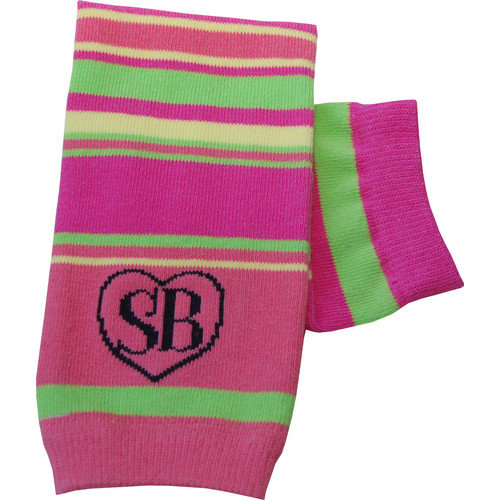 Snazzy Baby My Baby's Leg Warmers in Pink Pizzazz (Set of 2)