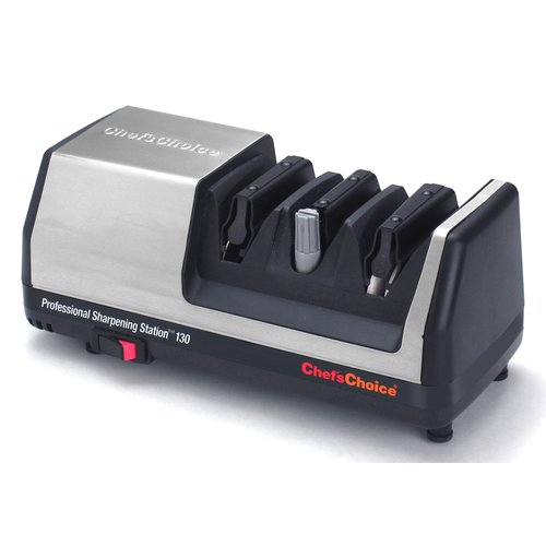 Click here to buy Chef's Choice Professional Plastic Electric Knife Sharpener by Chef's Choice.
