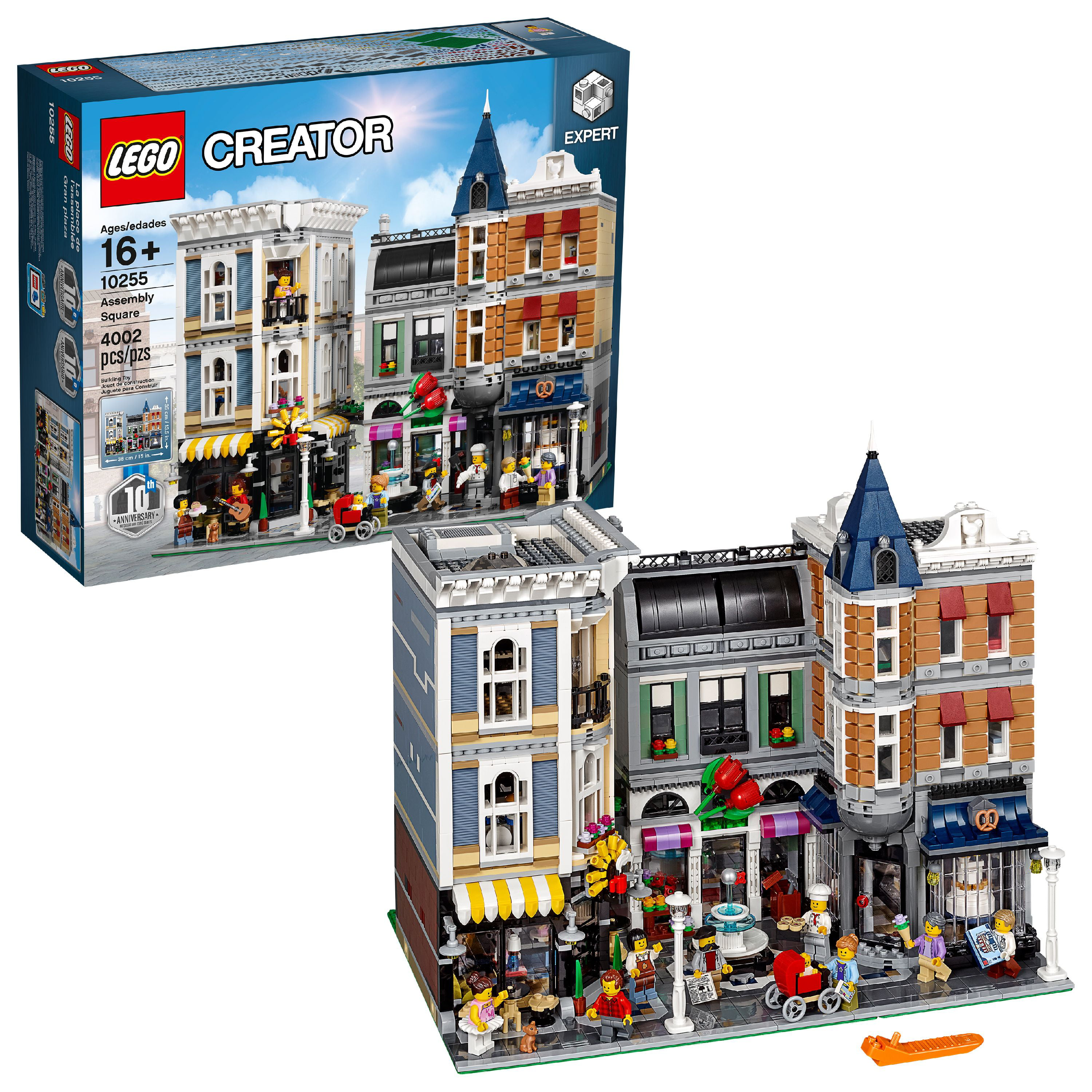 Lego Creator Expert Assembly Square 10255 by LEGO System Inc