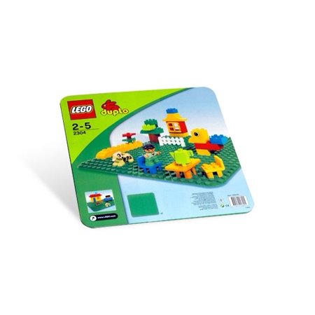 Large Green Building Plate - Building Sets by Lego (2304)