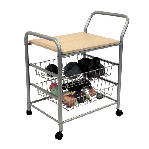 ORE Furniture Serving Cart with Wood Top