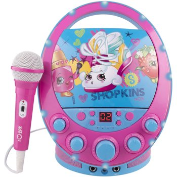 Shopkins Oval Flashing Light Karaoke