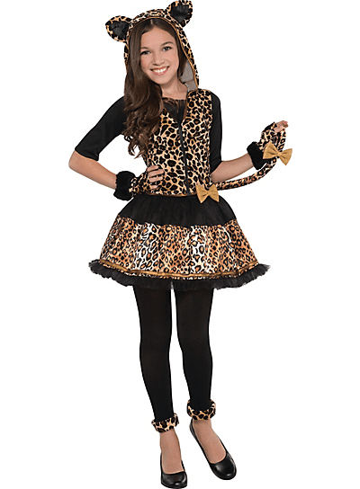 Children's Sassy Spots Costume Size X Large (14-16) by