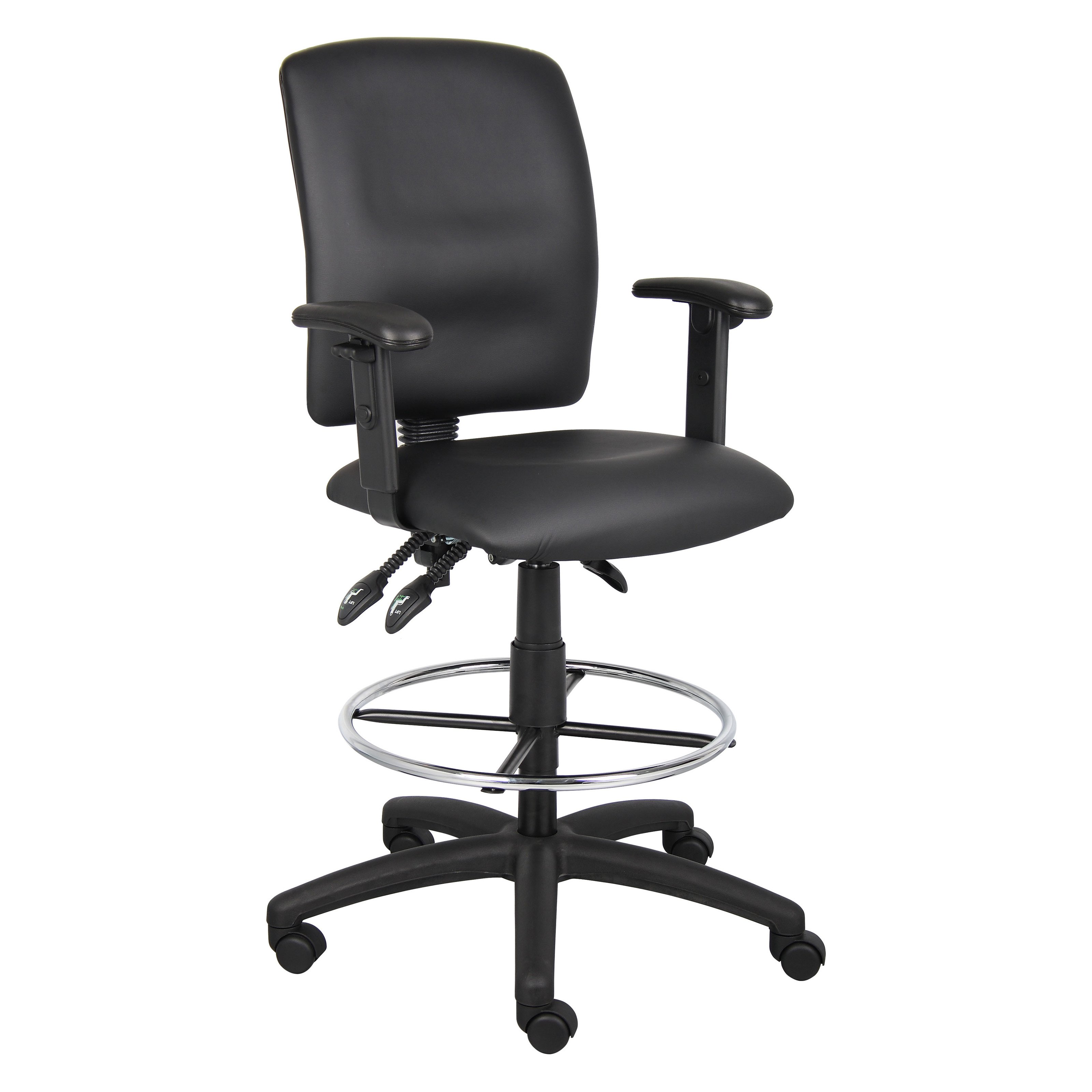 Ergonomic Multi Function Drafting Stool with Adjustable Arms