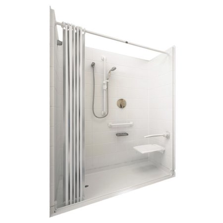 Ella Walk In Baths Elite Four Panel Shower Wall
