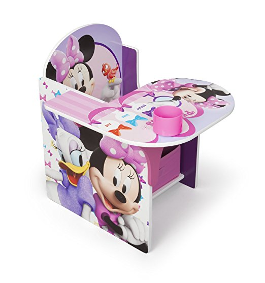 Disney Chair with Desk, Minnie by Delta