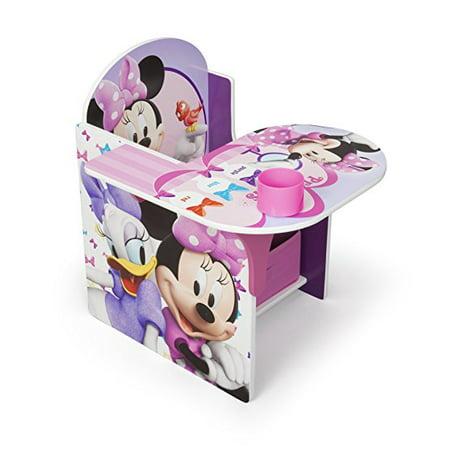 Disney Minnie Mouse Chair Desk with Storage Bin by Delta Children
