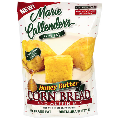 Marie Callender's Honey Butter Corn Bread & Muffin Mix, 16 oz