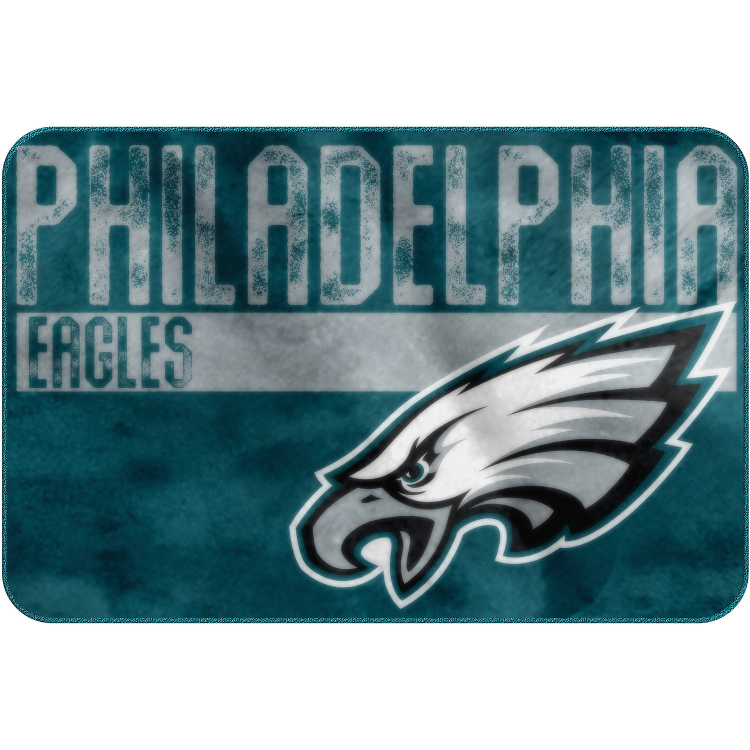 "NFL Philadelphia Eagles ""Worn Out"" Mat, 20"" x 30"""