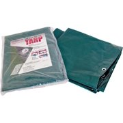 Prosource T2040GS140 Tarpaulin, 40 ft L, 20 ft W, 8 mil Thick, Green/Silver