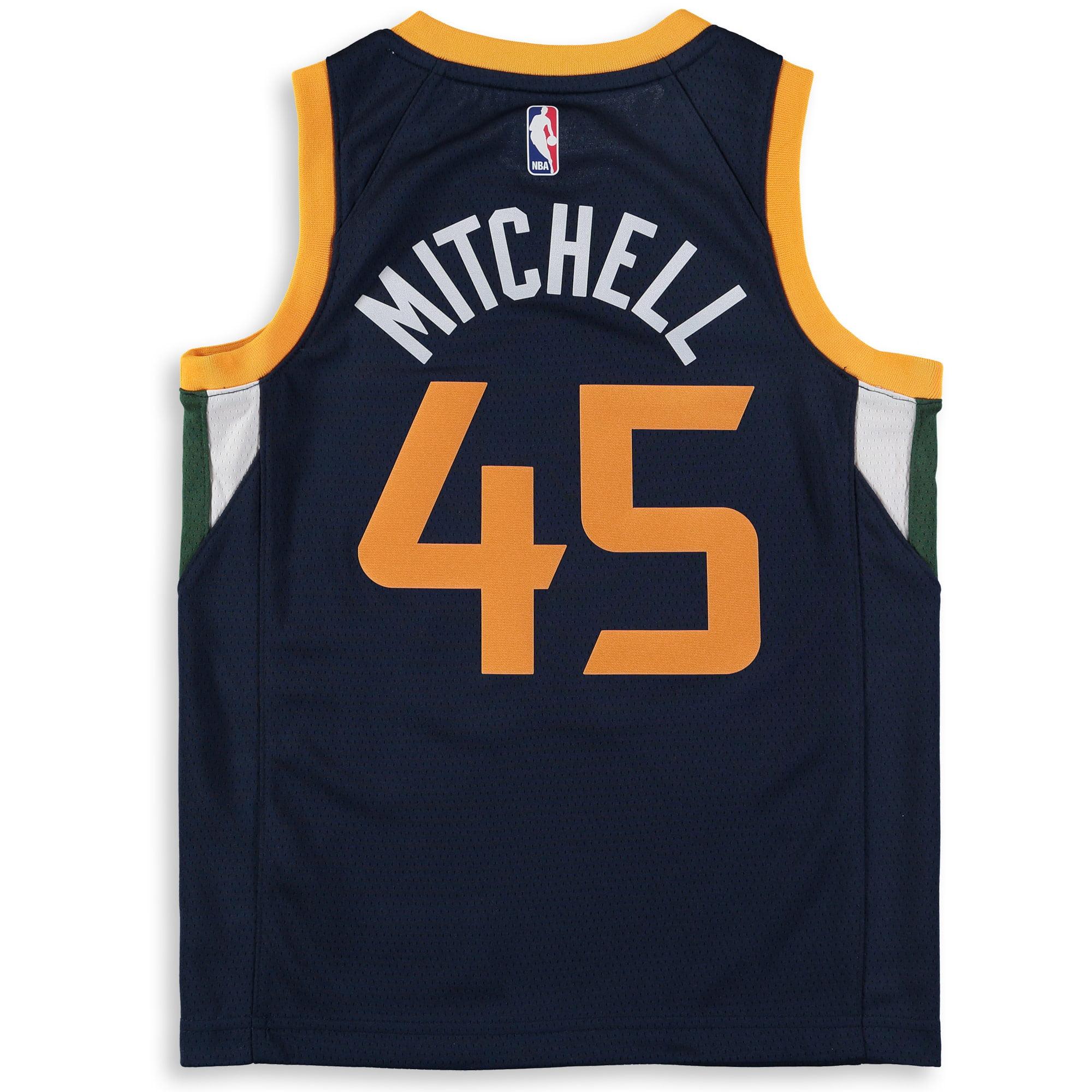 reputable site 077bd 07a8a Donovan Mitchell Utah Jazz Nike Youth Swingman Jersey - Navy