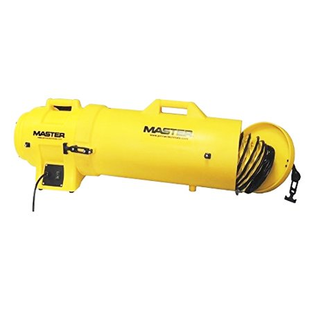 MASTER MB-P1210-DC25 Confined Space Fan,Yellow,13u0022 H