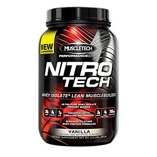 MuscleTech Performance Series Nitro-Tech - Vanilla, 2 lbs (907g)