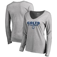 cd5aa7c1c Product Image Indianapolis Colts NFL Pro Line by Fanatics Branded Women s  Iconic Collection Script Assist Long Sleeve V