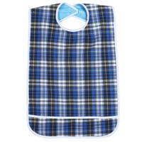 Yosoo 3Colors Waterproof Adult Elder Mealtime Bib Washable Dinning Aid Clothes Protector