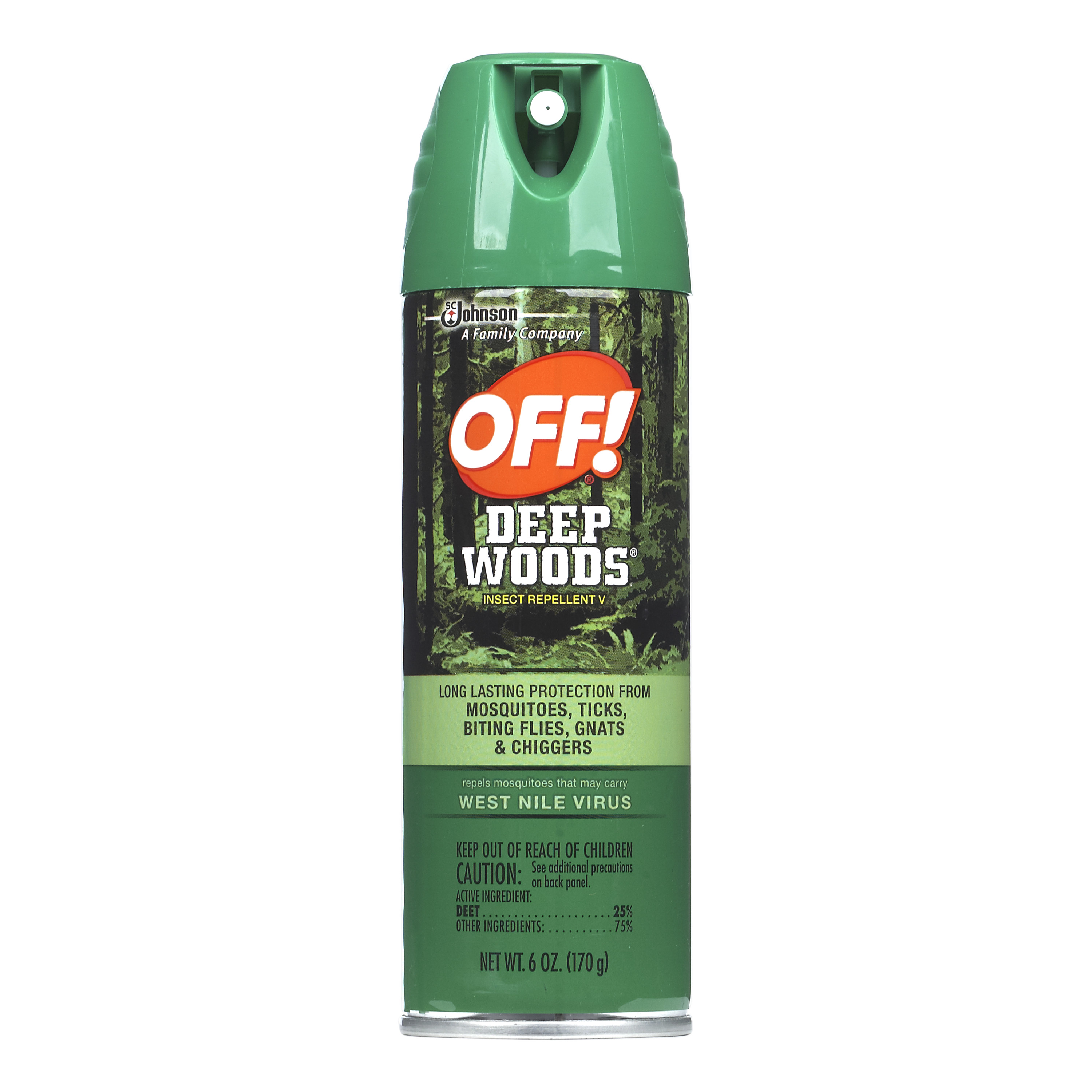 OFF! Deep Woods Insect Repellent V 6 Ounces