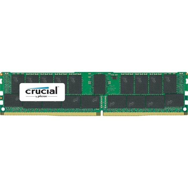 Crucial 32GB DDR4-2400 CL17 Registered ECC 1.2V RDIMM Memory Module
