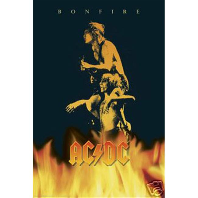 Hot Stuff Enterprise 614-24x36-MU Ac-Dc Poster