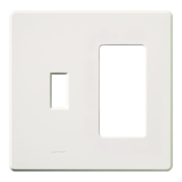 Lutron Fg 2 Td Wh Electrical Distribution Wall Plate White Walmartcom