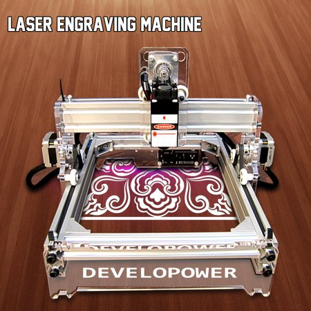 2000mw DIY Laser Engraving Machine Laser Engraver Cutter Printer Self-assembly (Best Hobby Laser Cutter)