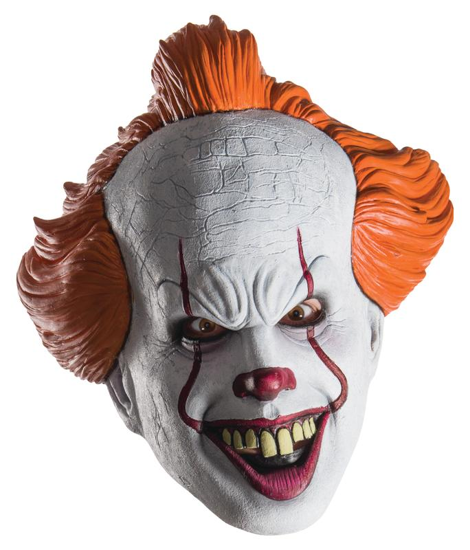 Rubies Pennywise Mask Halloween Costume Accessory Deals