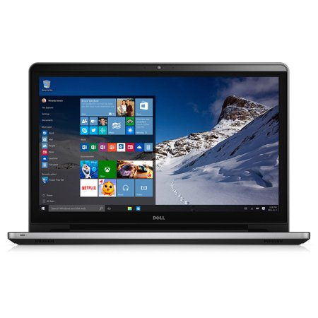 "Dell Silver 17.3"" Inspiron 5759 Laptop PC with Intel Core i7-6500U Processor, 16"
