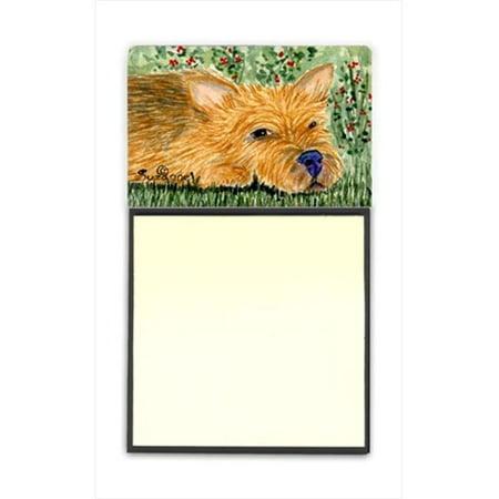 Carolines Treasures SS8862SN Norwich Terrier Refiillable Sticky Note Holder or Postit Note Dispenser - image 1 de 1