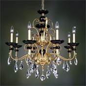 Allegri by Kalco Lighting 024952-016-FR001 Cimarosa 8 Light Chandelier in Two-To