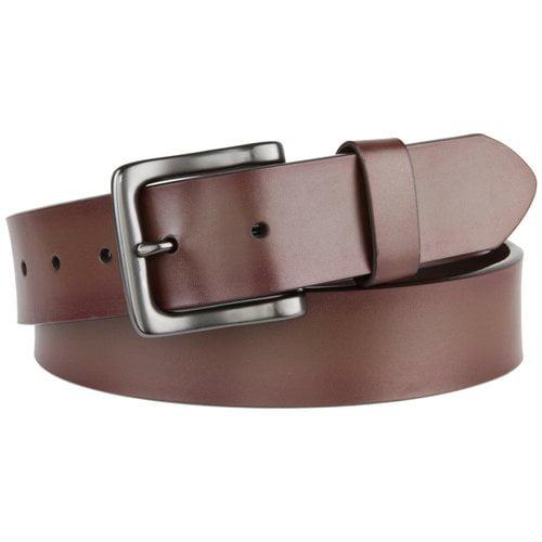 Faded Glory Men's 38mm Work Belt, Brown