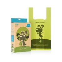 Earth Rated Dog Poop Bags, 120 Easy-tie Bags with Handles (not on rolls)