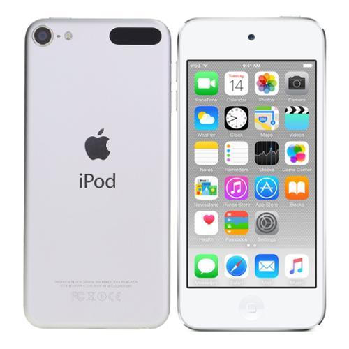 "Apple iPod Touch 6th Gen 128GB Wi-Fi 4"" Retina Touchscreen Player Silver MKWR2LLA"